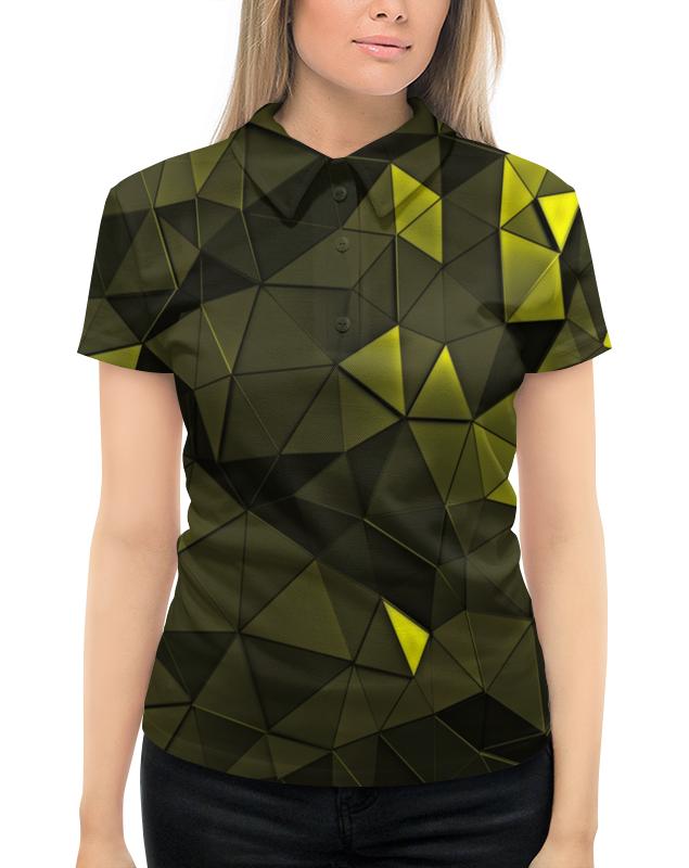 Рубашка Поло с полной запечаткой Printio Зеленые стекла толстовка с полной запечаткой printio зеленые стекла