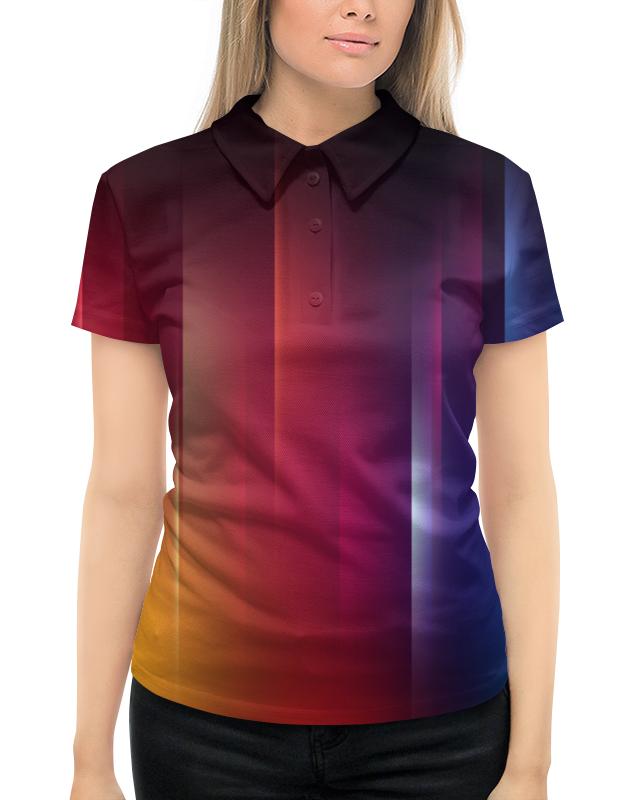 Рубашка Поло с полной запечаткой Printio Переход цвета рубашка поло с полной запечаткой printio переход цвета