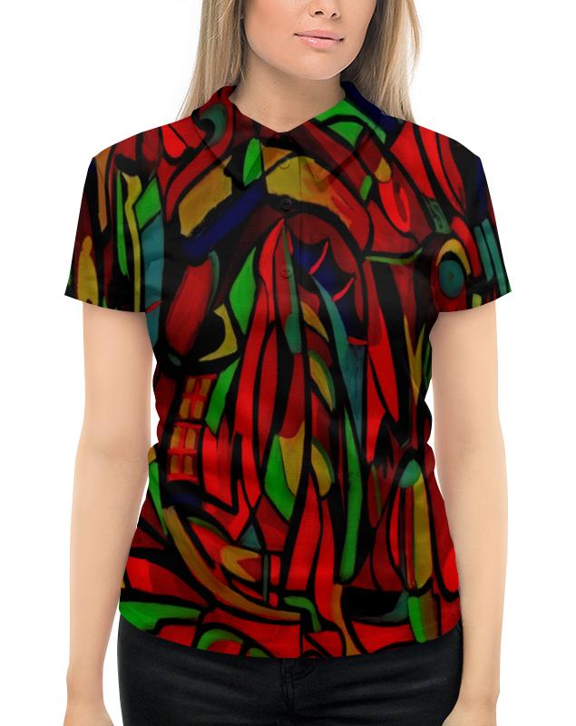 лучшая цена Рубашка Поло с полной запечаткой Printio Картина
