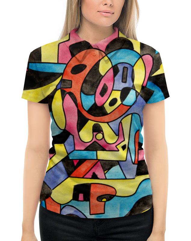 Рубашка Поло с полной запечаткой Printio Ttt`12ll леггинсы printio ttt 12ll