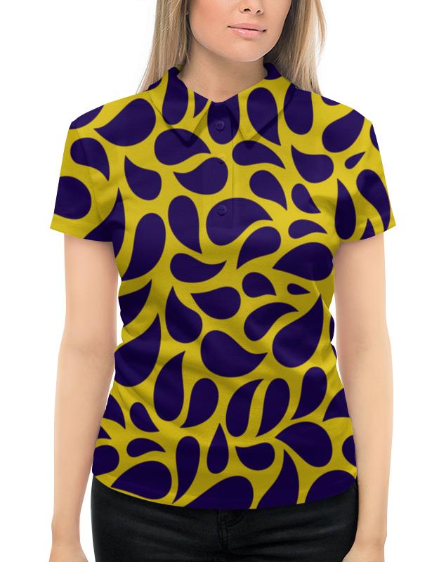 Рубашка Поло с полной запечаткой Printio Капли инфлюцид капли 30мл