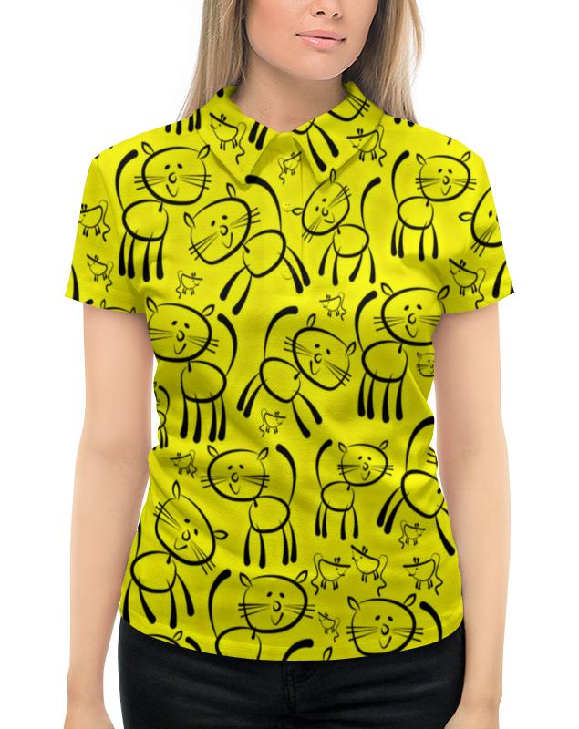 Рубашка Поло с полной запечаткой Printio Котенок рубашка поло printio фк нефтехимик