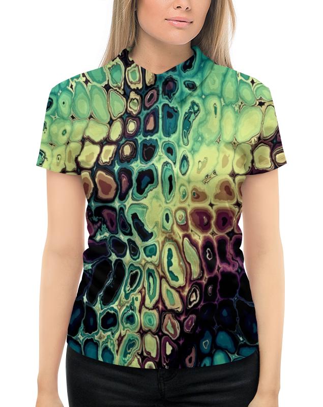 все цены на Рубашка Поло с полной запечаткой Printio Мозаика онлайн