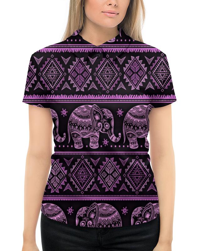 Рубашка Поло с полной запечаткой Printio Индия