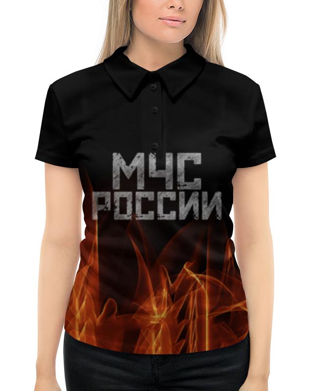 Рубашка Поло с полной запечаткой Printio Мчс россии autotime модель автомобиля uaz 39625 мчс россии