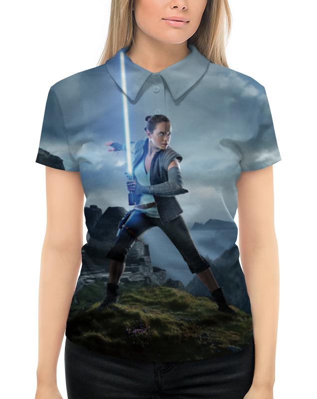 Рубашка Поло с полной запечаткой Printio Звездные войны - рей футболка с полной запечаткой мужская printio звездные войны рей