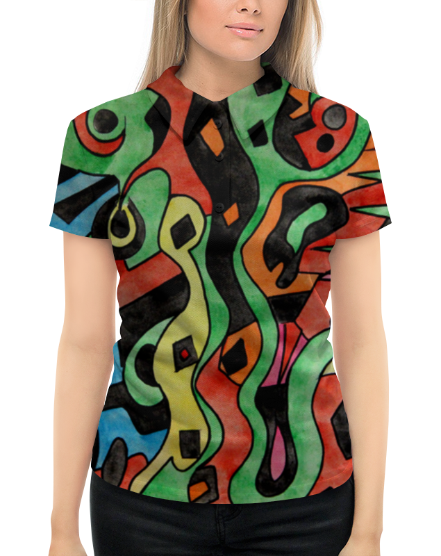 Рубашка Поло с полной запечаткой Printio G1d1d`,p1c леггинсы printio g1d1d p1c