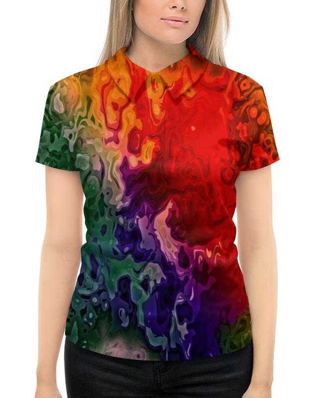 Printio Цветные краски рубашка поло с полной запечаткой printio краски
