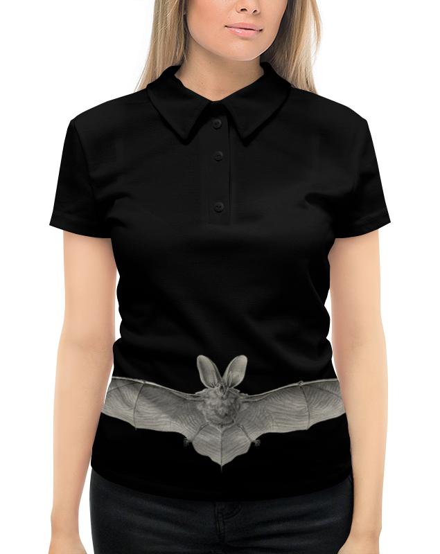 Рубашка Поло с полной запечаткой Printio Летучая мышь, ernst haeckel
