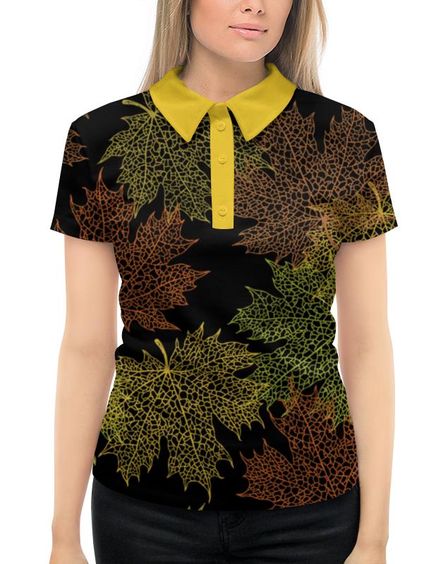 Printio Кленовые листья жен рубашка герти р 42