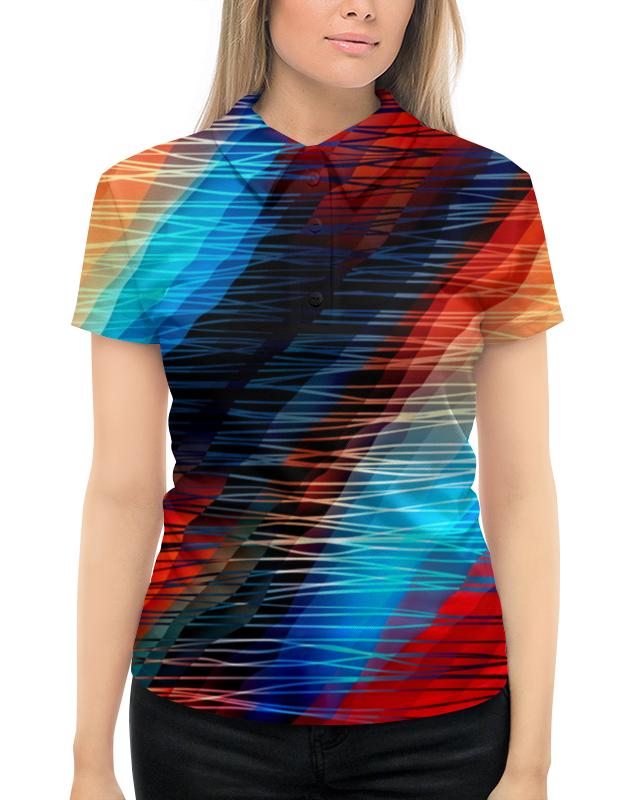 Фото - Printio Цветные текстуры рубашка поло с полной запечаткой printio цветные круги