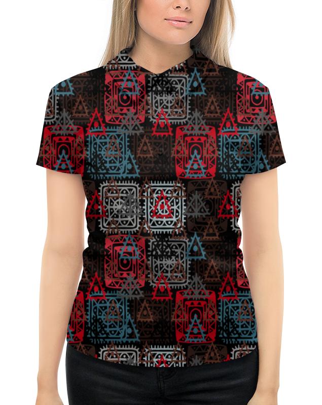 Рубашка Поло с полной запечаткой Printio Графический орнамент графический планшет wacom intuos art pen