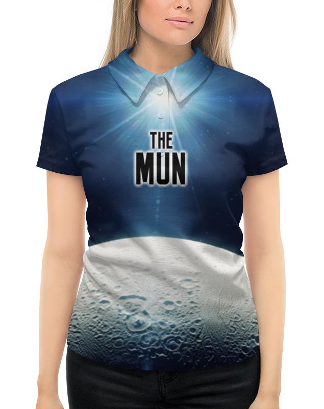 Рубашка Поло с полной запечаткой Printio The mun (the planet) рубашка поло с полной запечаткой printio break the madness