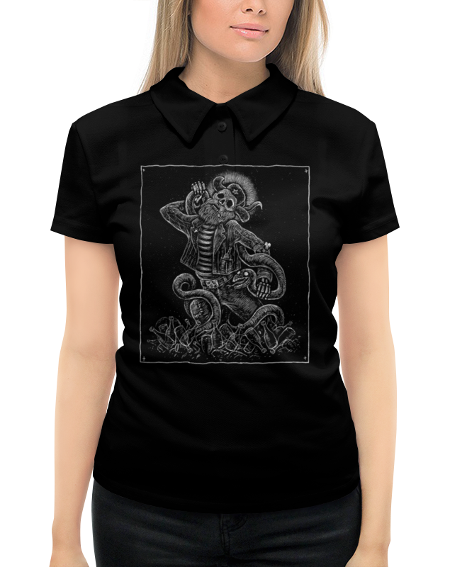 Фото - Рубашка Поло с полной запечаткой Printio Борьба с зелёным змием рубашка поло с полной запечаткой printio meltdown няша
