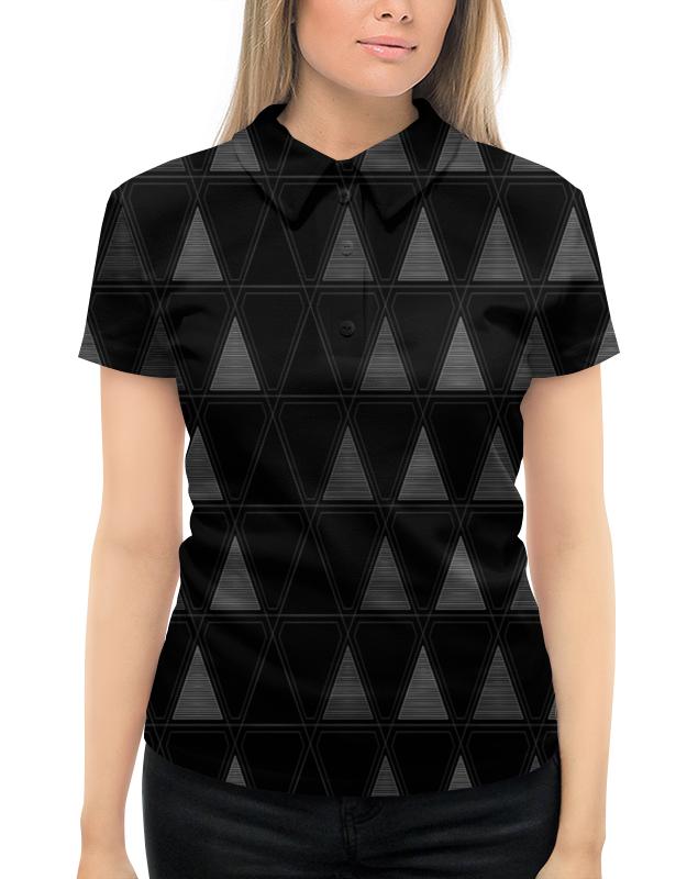 Рубашка Поло с полной запечаткой Printio Треугольник рубашка поло printio фк нефтехимик