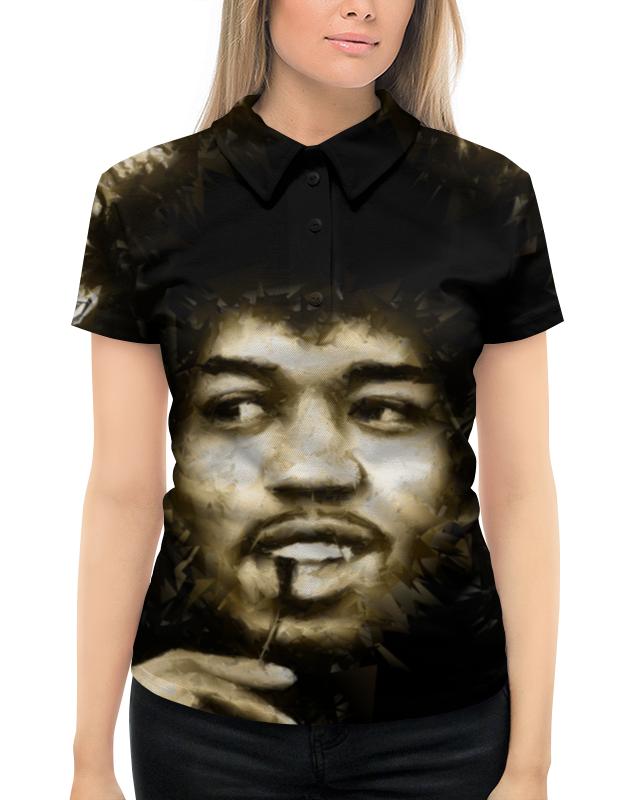 цена на Рубашка Поло с полной запечаткой Printio Джими хендрикс