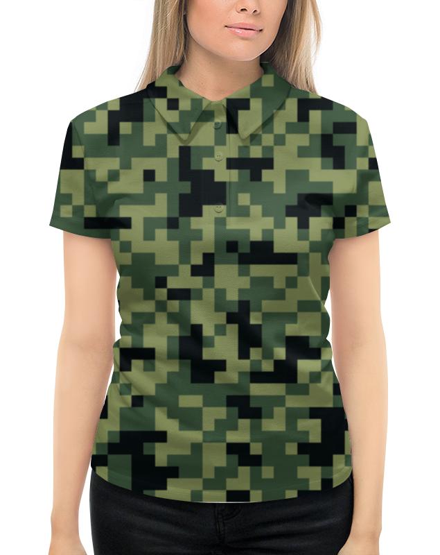 Рубашка Поло с полной запечаткой Printio Камуфляж рубашка поло printio фк нефтехимик
