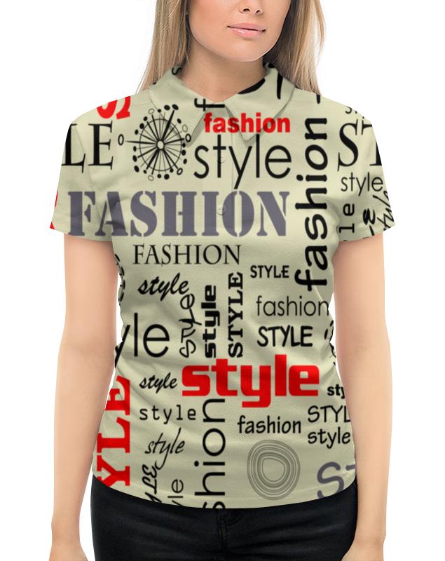 Рубашка Поло с полной запечаткой Printio Fashion style fashion style