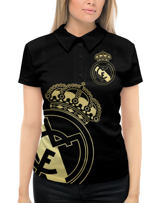 Рубашка Поло с полной запечаткой Printio Реал мадрид рубашка поло с полной запечаткой printio реал мадрид