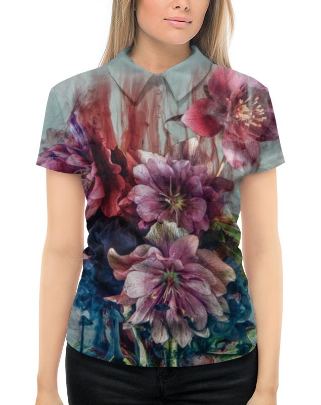 Рубашка Поло с полной запечаткой Printio Editors