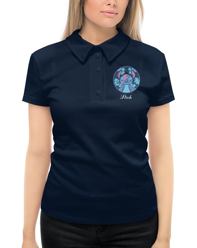Рубашка Поло с полной запечаткой Printio Lilo & stich (stich) цены онлайн