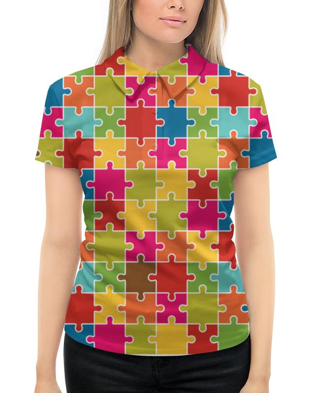 Рубашка Поло с полной запечаткой Printio Puzzle рубашка поло printio фк нефтехимик