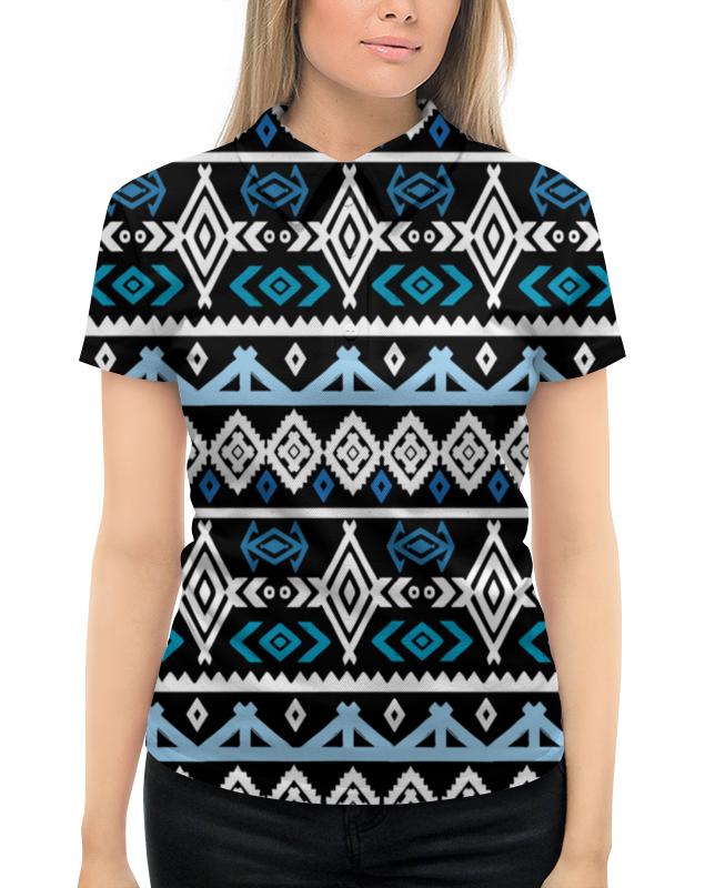 Рубашка Поло с полной запечаткой Printio Узор ромбы поло print bar узор