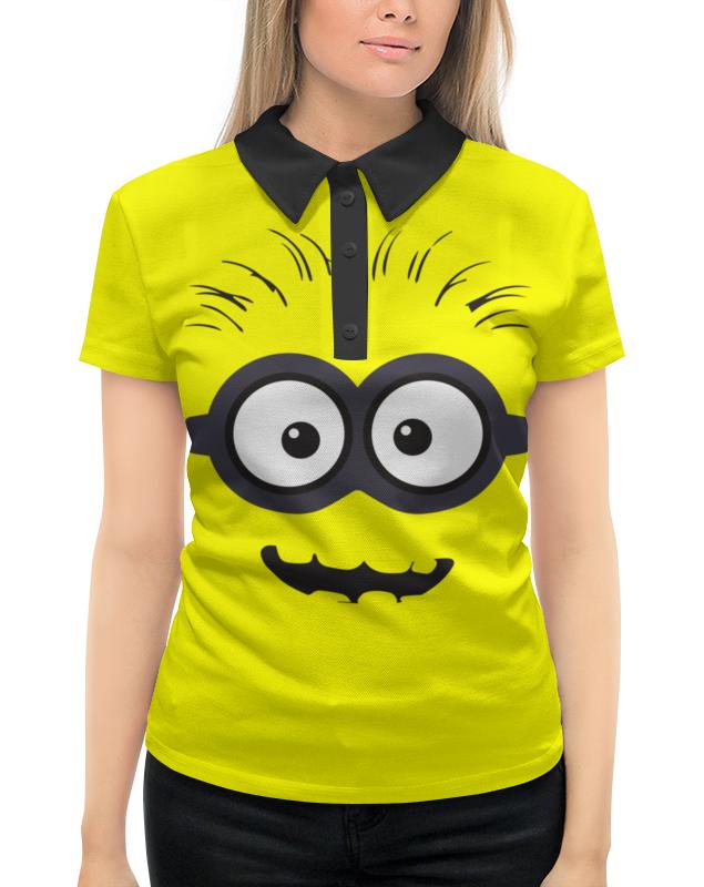 Рубашка Поло с полной запечаткой Printio Миньон футболка с полной запечаткой женская printio миньон