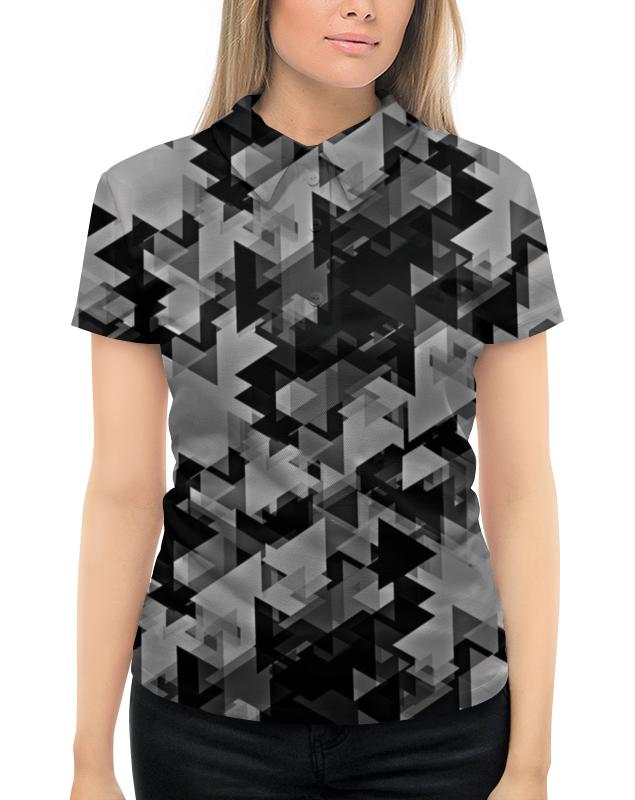 Рубашка Поло с полной запечаткой Printio Графика рубашка поло printio фк нефтехимик