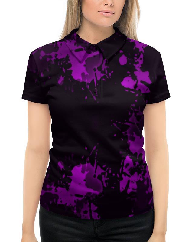 Рубашка Поло с полной запечаткой Printio Брызги красок цены