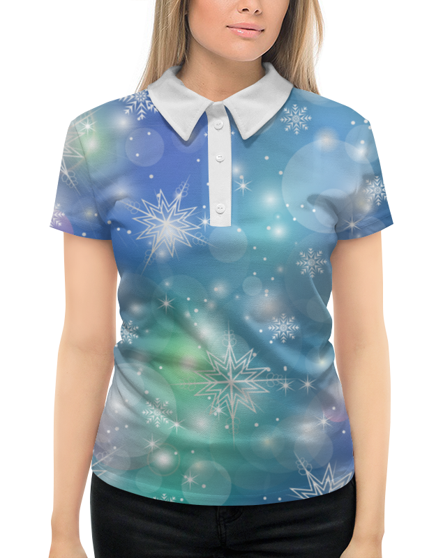 Рубашка Поло с полной запечаткой Printio Снежинка рубашка поло с полной запечаткой printio baby driver
