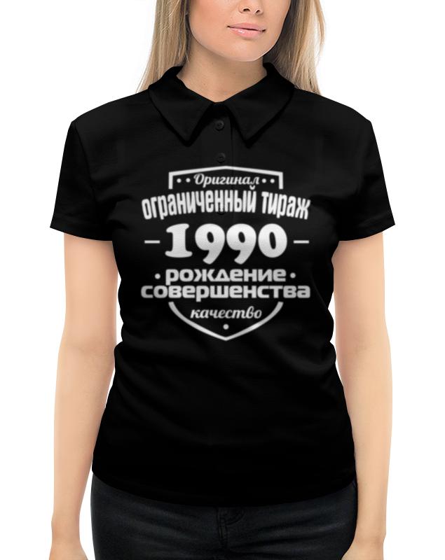 Рубашка Поло с полной запечаткой Printio Ограниченный тираж 1990