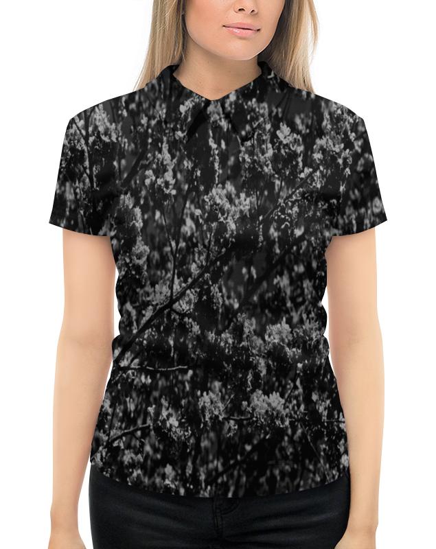 Рубашка Поло с полной запечаткой Printio Времена года времена года