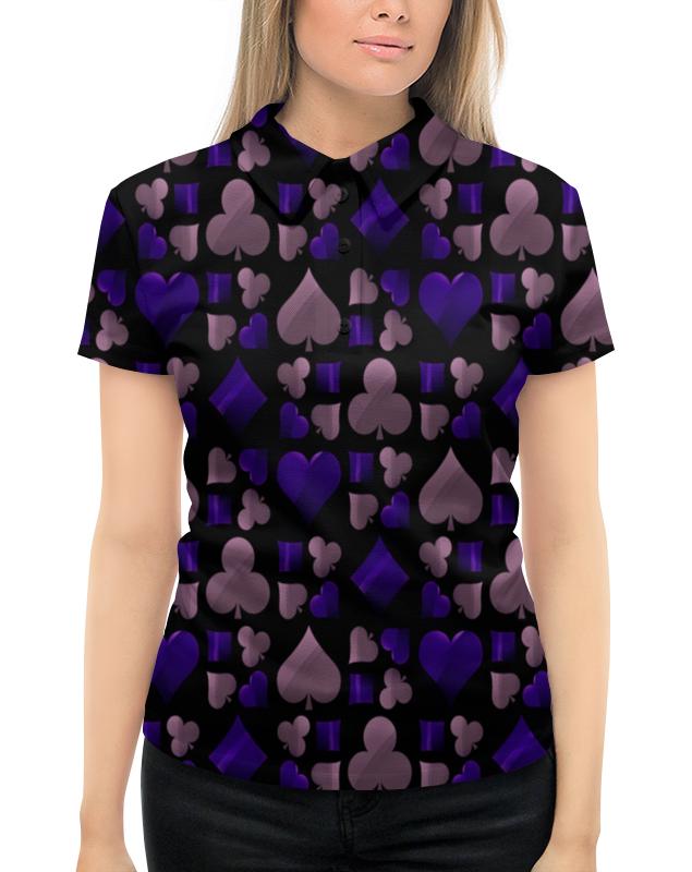 Рубашка Поло с полной запечаткой Printio Покер