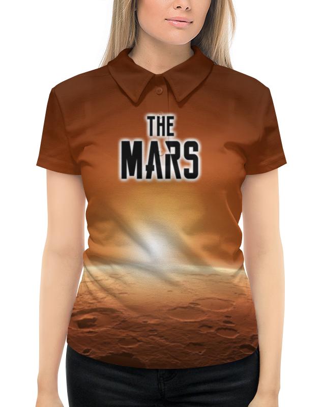 Рубашка Поло с полной запечаткой Printio The mars (the planet) рубашка поло с полной запечаткой printio break the madness