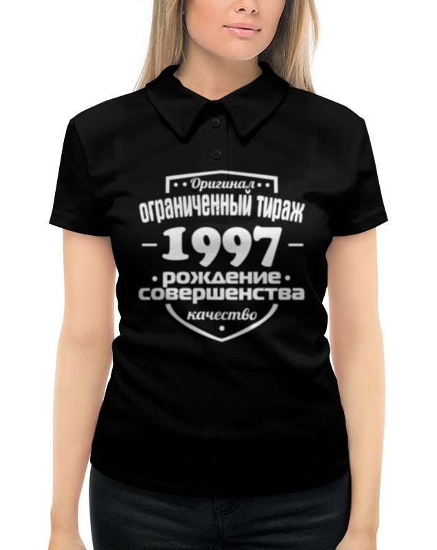 Рубашка Поло с полной запечаткой Printio Ограниченный тираж 1997 поло print bar i made in 1997