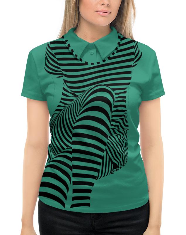 Рубашка Поло с полной запечаткой Printio раздвоение личности