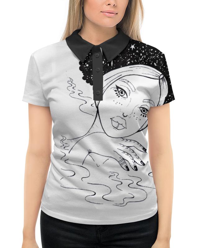 Рубашка Поло с полной запечаткой Printio Magic майка print bar magic ia vocaloid