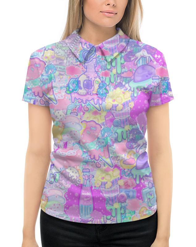 Рубашка Поло с полной запечаткой Printio Привет от тумблера 2 свитшот унисекс с полной запечаткой printio привет от тумблера