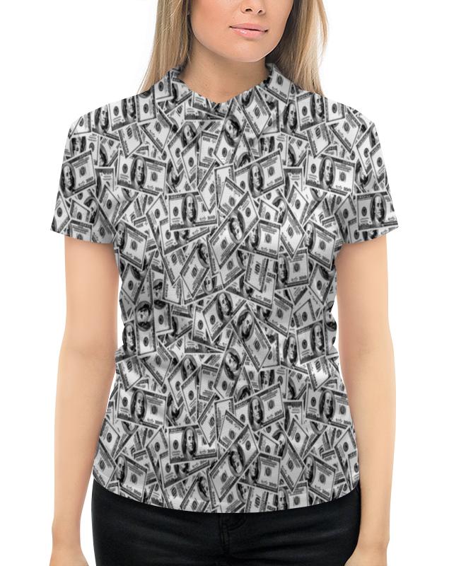 Рубашка Поло с полной запечаткой Printio Доллар рубашка поло printio фк нефтехимик