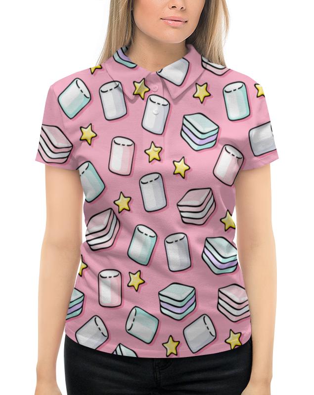 Рубашка Поло с полной запечаткой Printio Зефир футболка с полной запечаткой женская printio зефир
