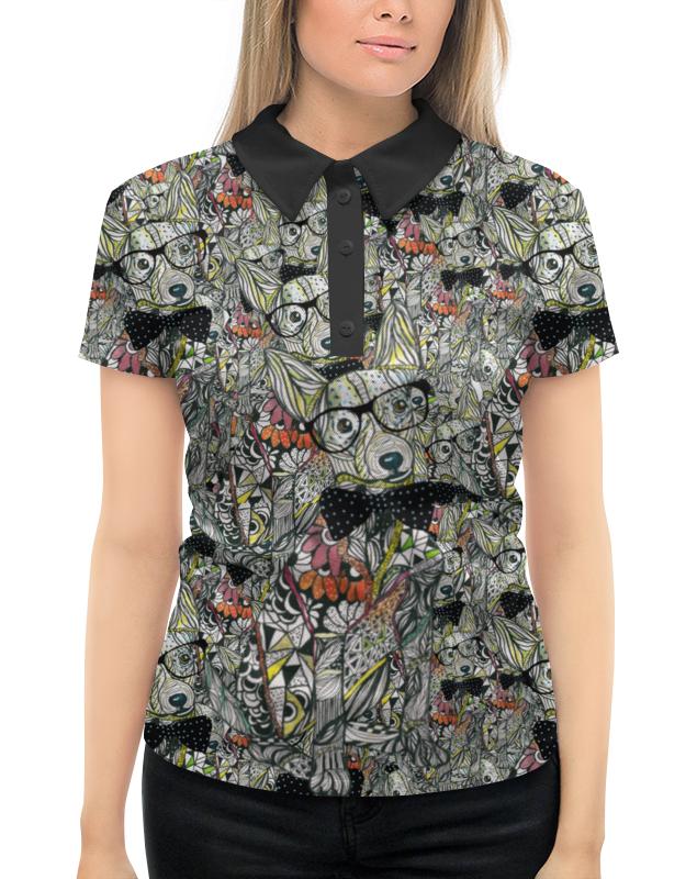 Рубашка Поло с полной запечаткой Printio Вечерняя прогулка вечерняя сумка 2015 211