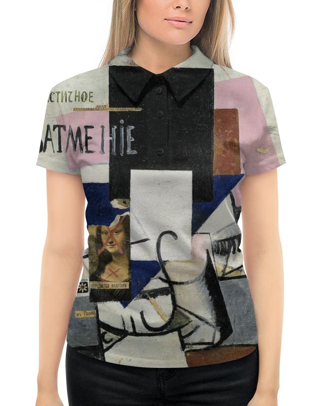 Рубашка Поло с полной запечаткой Printio Композиция с джокондой (казимир малевич) казимир валишевский царство женщин