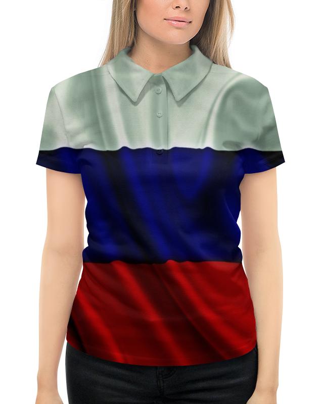 Рубашка Поло с полной запечаткой Printio Триколор антену триколор в екатеринбурге