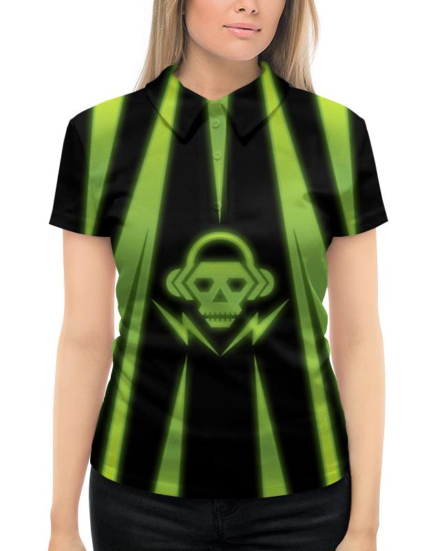 Рубашка Поло с полной запечаткой Printio Skull худи print bar skull robot