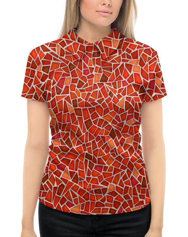 Рубашка Поло с полной запечаткой Printio Мозаика
