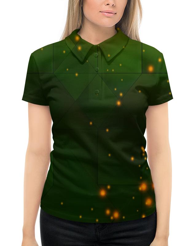 цена на Рубашка Поло с полной запечаткой Printio Вспышки