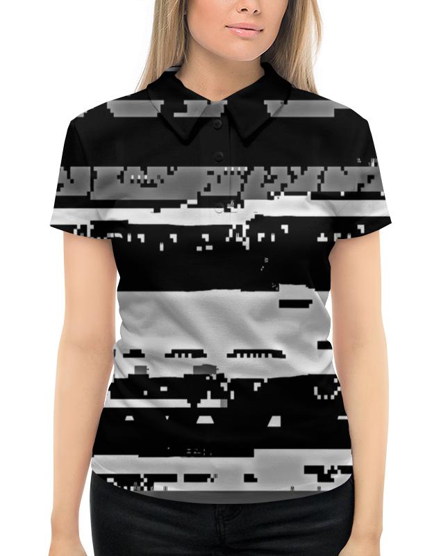 Рубашка Поло с полной запечаткой Printio Штрихи