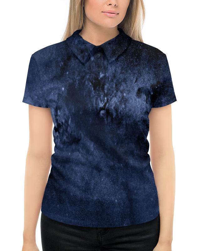 Рубашка Поло с полной запечаткой Printio Звезды в небе