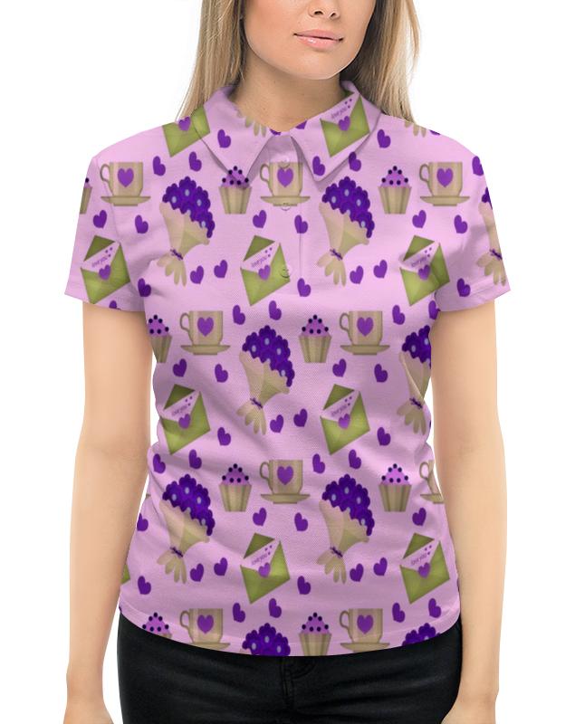 Рубашка Поло с полной запечаткой Printio Love you поло print bar me love you love